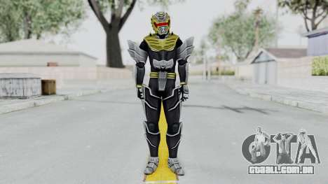 Power Rangers Megaforce - Knight para GTA San Andreas segunda tela