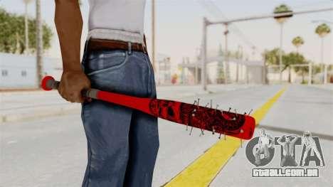 Nail Baseball Bat v2 para GTA San Andreas terceira tela