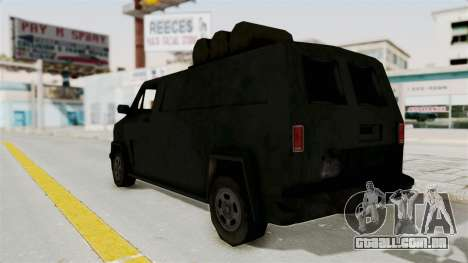 Boodhound Burrito - Manhunt 2 para GTA San Andreas esquerda vista