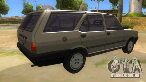Kartal 2007 69 Serisi para GTA San Andreas vista direita