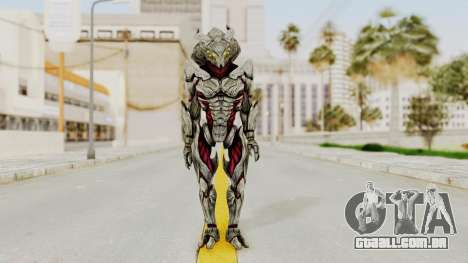 Mass Effect 3 Collector Captain para GTA San Andreas segunda tela