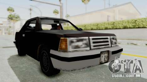 GTA 3 Manana para GTA San Andreas vista direita