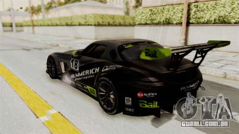 Mercedes-Benz SLS AMG GT3 PJ3 para as rodas de GTA San Andreas