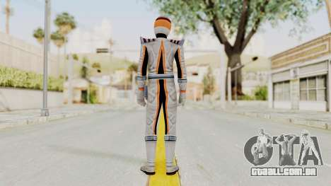 Power Rangers Operation Overdrive - Mercury para GTA San Andreas terceira tela