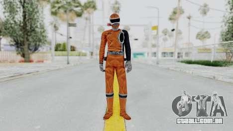 Power Rangers S.P.D - Orange para GTA San Andreas segunda tela