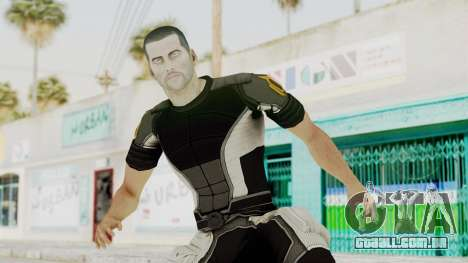 Mass Effect 2 Shepard Casual para GTA San Andreas