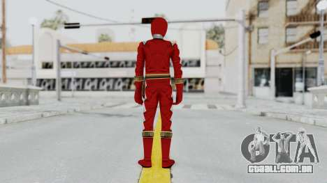 Power Rangers Dino Thunder - Red para GTA San Andreas terceira tela