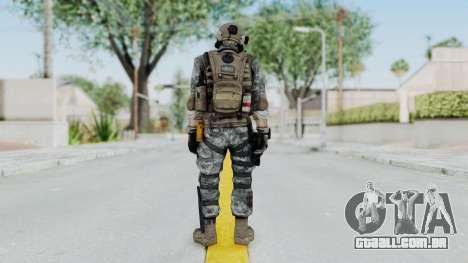 Battery Online Soldier 5 v2 para GTA San Andreas terceira tela