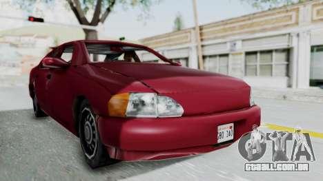 GTA 3 Kuruma para GTA San Andreas