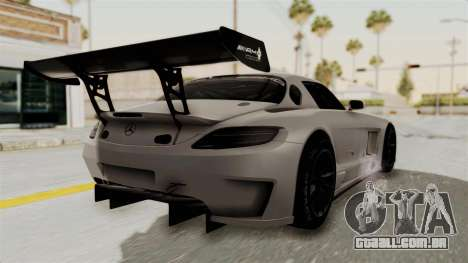 Mercedes-Benz SLS AMG GT3 PJ3 para GTA San Andreas esquerda vista
