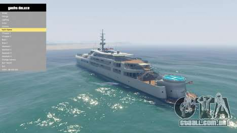 Yacht Deluxe 1.9 para GTA 5