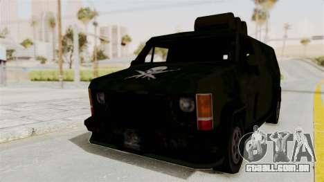 Boodhound Burrito - Manhunt 2 para GTA San Andreas traseira esquerda vista