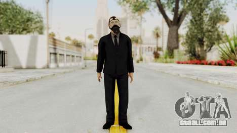 Wanted Weapons Of Fate Bodyguard para GTA San Andreas segunda tela