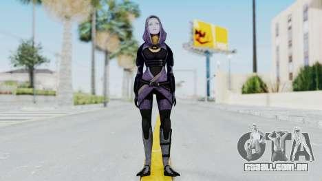 Mass Effect 3 Tali Zorah Unmasked para GTA San Andreas segunda tela