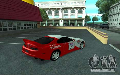 Toyota Supra Tunable para GTA San Andreas vista interior
