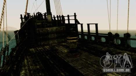 Flying Dutchman 3D para GTA San Andreas vista interior