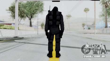 Hodeed SAS 9 para GTA San Andreas terceira tela