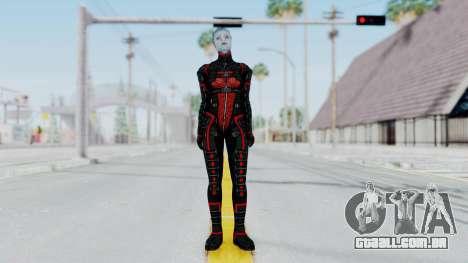 Mass Effect 2 Monrith Commando para GTA San Andreas segunda tela
