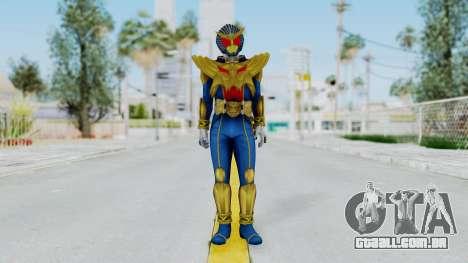 Kamen Rider Hyper Beast para GTA San Andreas segunda tela