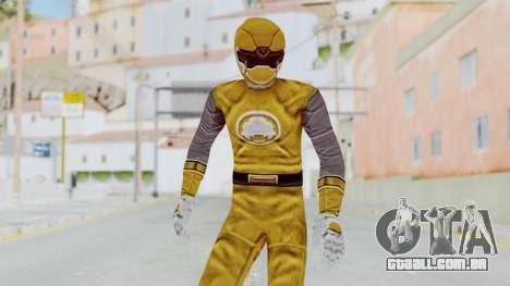 Power Rangers Ninja Storm - Yellow para GTA San Andreas
