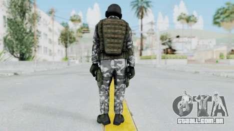 Black Mesa - HECU Marine v1 para GTA San Andreas terceira tela