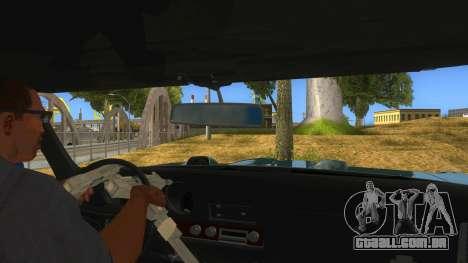1969 Pontiac GTO Monster Truck para GTA San Andreas vista interior