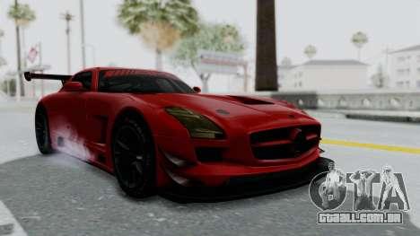 Mercedes-Benz SLS AMG GT3 PJ6 para GTA San Andreas vista direita