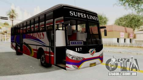 Superlines Ordinary Bus para GTA San Andreas