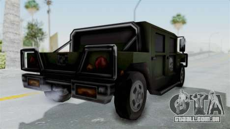 Patriot from Manhunt 2 para GTA San Andreas vista direita