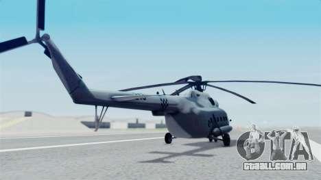 Mi-8 Croatian para GTA San Andreas esquerda vista