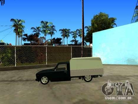 Vis 2345 para GTA San Andreas esquerda vista