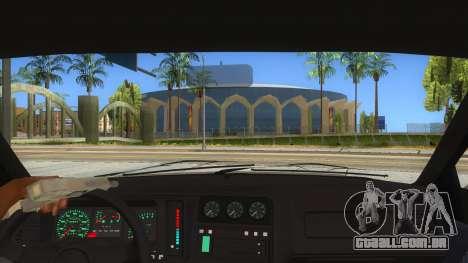 Ford Sierra Sapphire Cosworth para GTA San Andreas vista interior