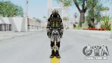 Monolith Scientific Suit para GTA San Andreas segunda tela
