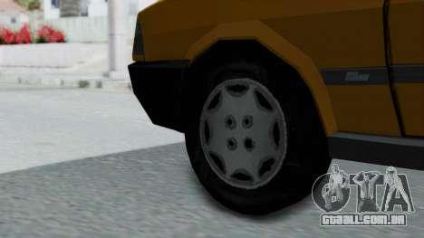 Tofas Kartal Taxi para GTA San Andreas traseira esquerda vista