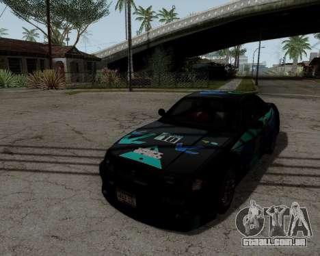 Nissan R33 GT-R Tunable para GTA San Andreas interior