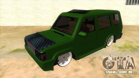 Toyota Kijang Grand Extra IKC para GTA San Andreas