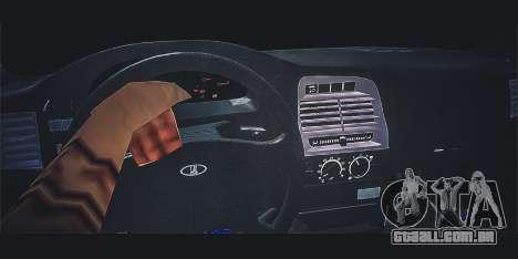 VAZ 21123 para GTA San Andreas vista direita
