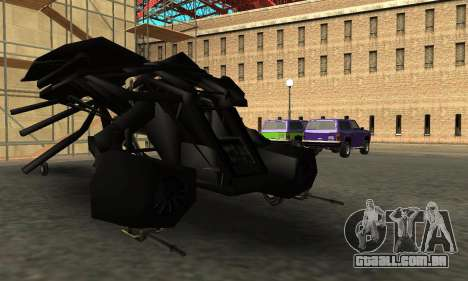 The Dark Knight Rises BAT v1 para GTA San Andreas