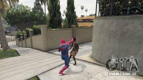 GTA 5 Homem-aranha terceiro screenshot