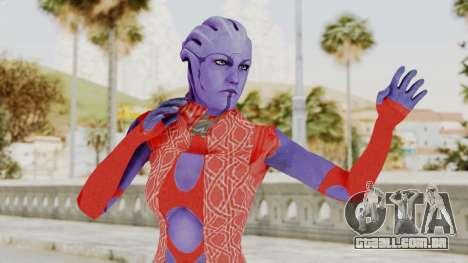 Mass Effect 3 Aria TLoak Dress para GTA San Andreas