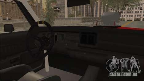 Dodge Monaco 1974 Drag para GTA San Andreas vista direita