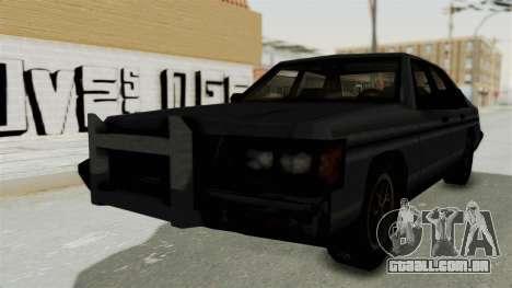 Cruiser from Manhunt 2 para GTA San Andreas traseira esquerda vista