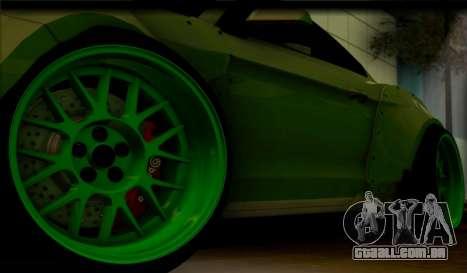 Ford Mustang RTRX Coupe para GTA San Andreas vista traseira