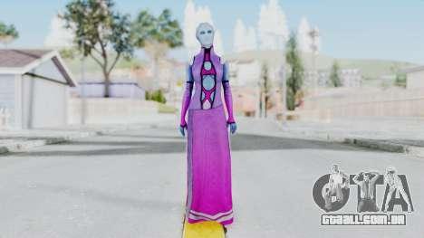 Mass Effect 1 Shaira Dress para GTA San Andreas segunda tela
