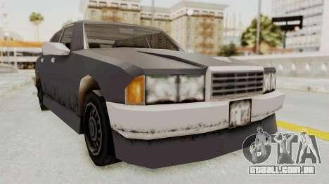 GTA 3 Mafia Sentinel para GTA San Andreas