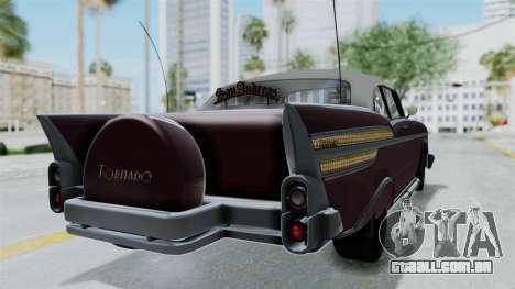 GTA 5 Declasse Tornado Bobbles and Plaques para GTA San Andreas esquerda vista