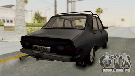 Dacia 1310 TX para GTA San Andreas vista direita