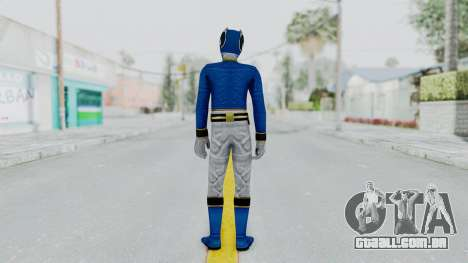 Power Rangers Megaforce - Blue para GTA San Andreas terceira tela
