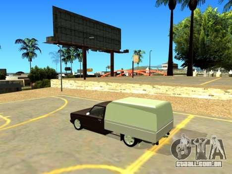 Vis 2345 para GTA San Andreas traseira esquerda vista