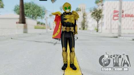 Kamen Rider Beast Buffa para GTA San Andreas segunda tela